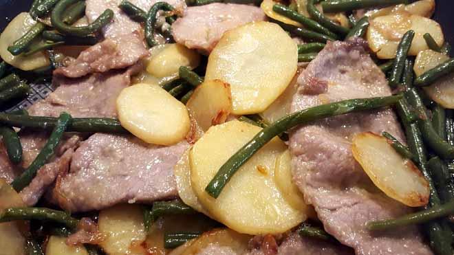 Secondi di carne e verdure, Straccetti con verdure, un'ottima soluzione