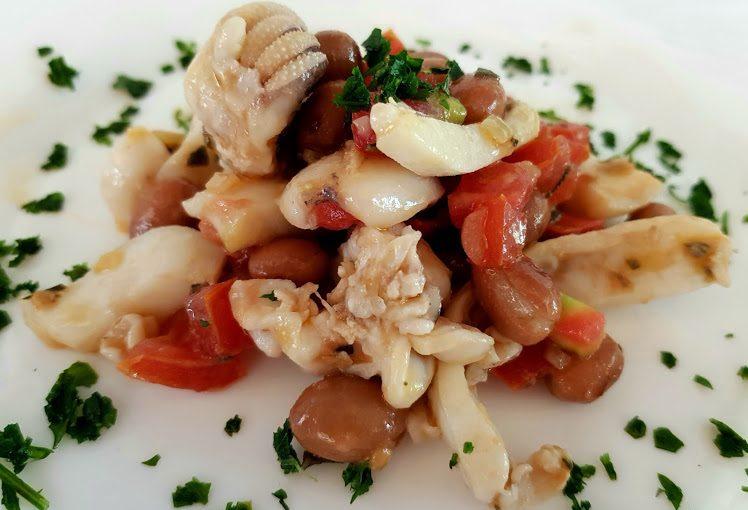 calamari e fagioli