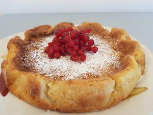 Torta Mousse al cioccolato bianco
