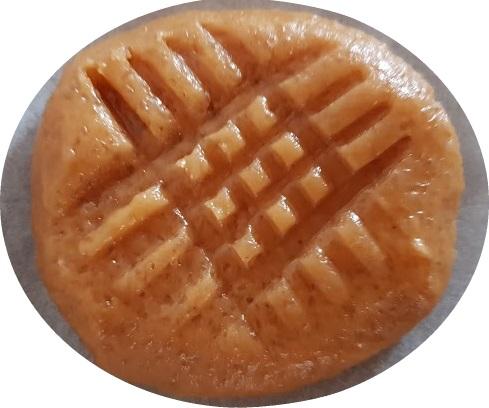 Biscotti al burro di arachidi con solo 3 ingredienti