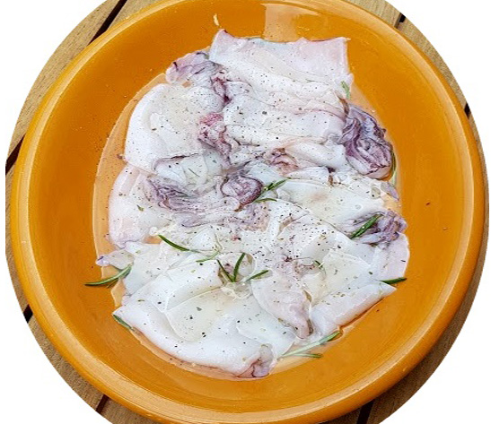 Ricette con i calamari: la marinatura