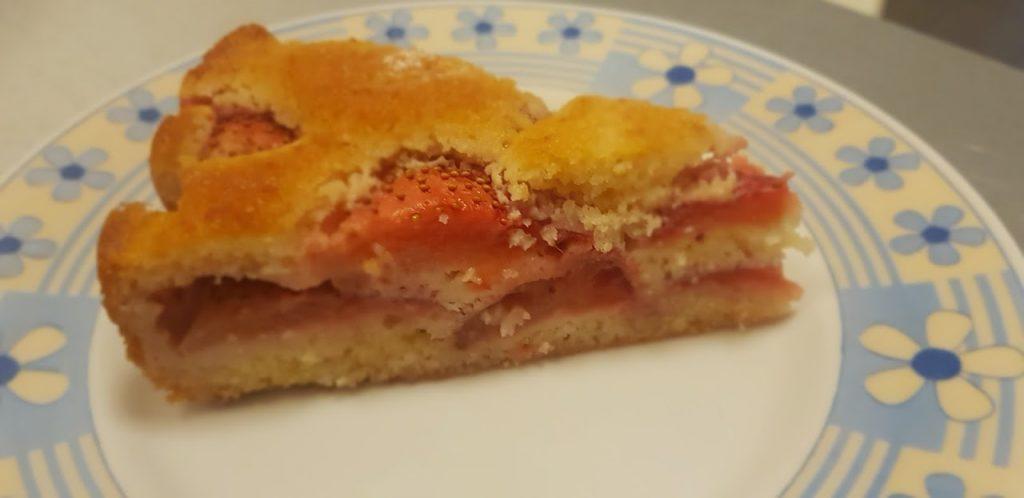 Questa torta alle fragole senza panna, la preparava mia nonna